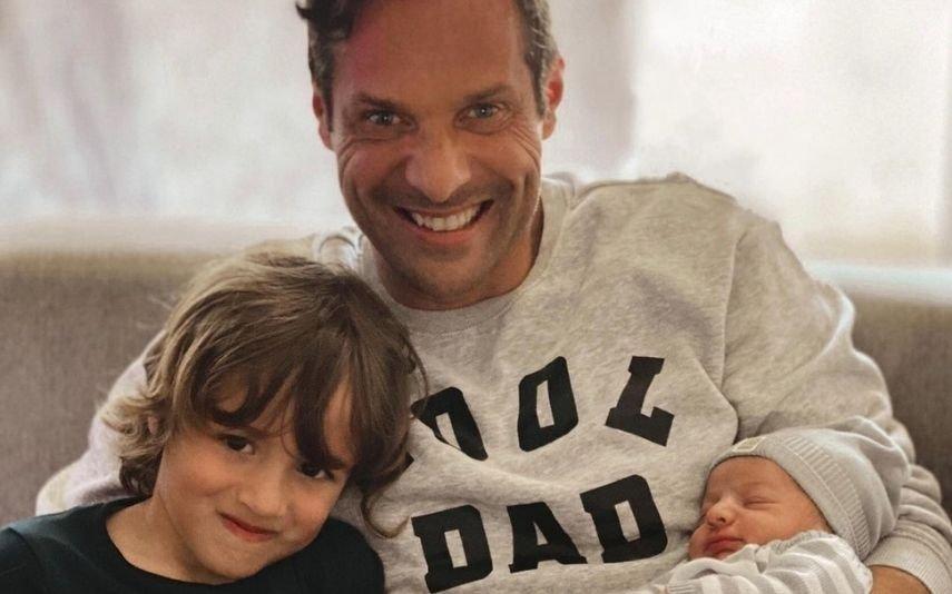 José Carlos Pereira Depois do segundo filho, ator não quer voltar a ser pai: