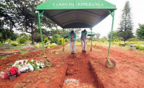 Covid-19: Brasil com mais 93.317 casos e 3.693 mortos nas últimas 24 horas