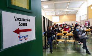 Covid-19: França estabelece novo recorde diário de vacinações