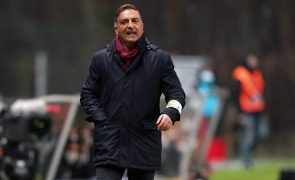 Carlos Carvalhal admite que Sporting de Braga