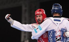 Júlio Ferreira em quinto lugar no torneio -80 kg dos Europeus de taekwondo