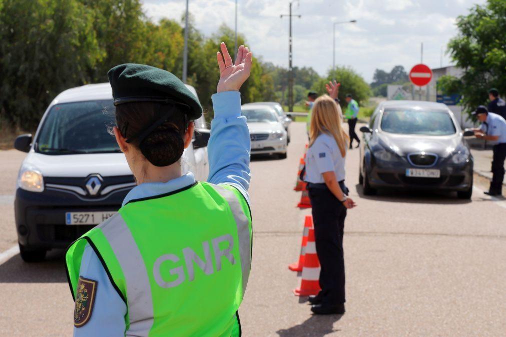 GNR deteve 213 pessoas no fim de semana, maioria por conduzir com álcool