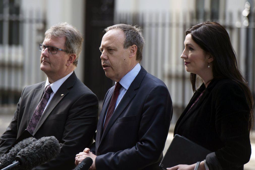 Partido Conservador alcança acordo de apoio parlamentar com unionistas