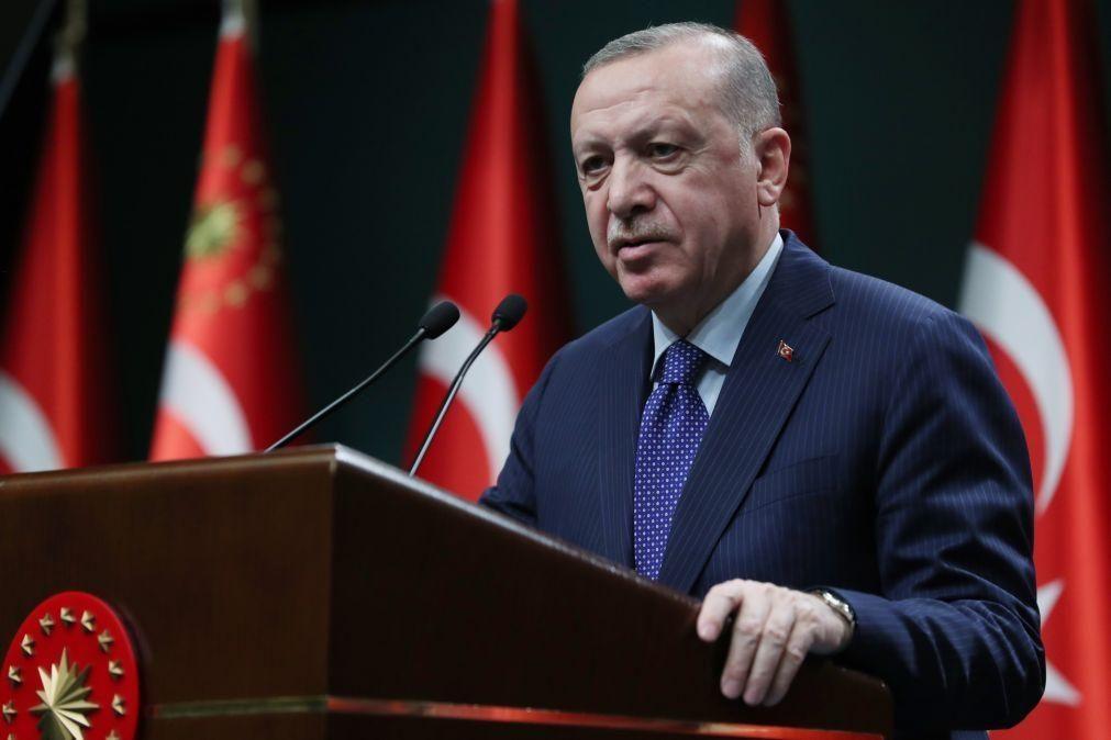 Turquia diz que não quer