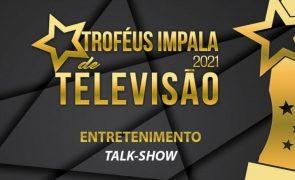 Troféus Impala de Televisão 2021: Nomeações para Melhor Talk-Show