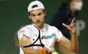 João Sousa falha acesso ao quadro principal do Masters 1.000 de Monte Carlo