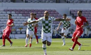 Moreirense vence na visita ao Gil Vicente e sobe ao sétimo lugar na I Liga
