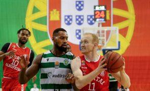 Sporting bate Imortal e conquista Taça de basquetebol pela sétima vez