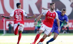 Sporting de Braga empata com Belenenses SAD e perde terreno para o segundo lugar