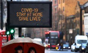 Covid-19: Reino Unido regista sete mortes nas últimas 24 horas