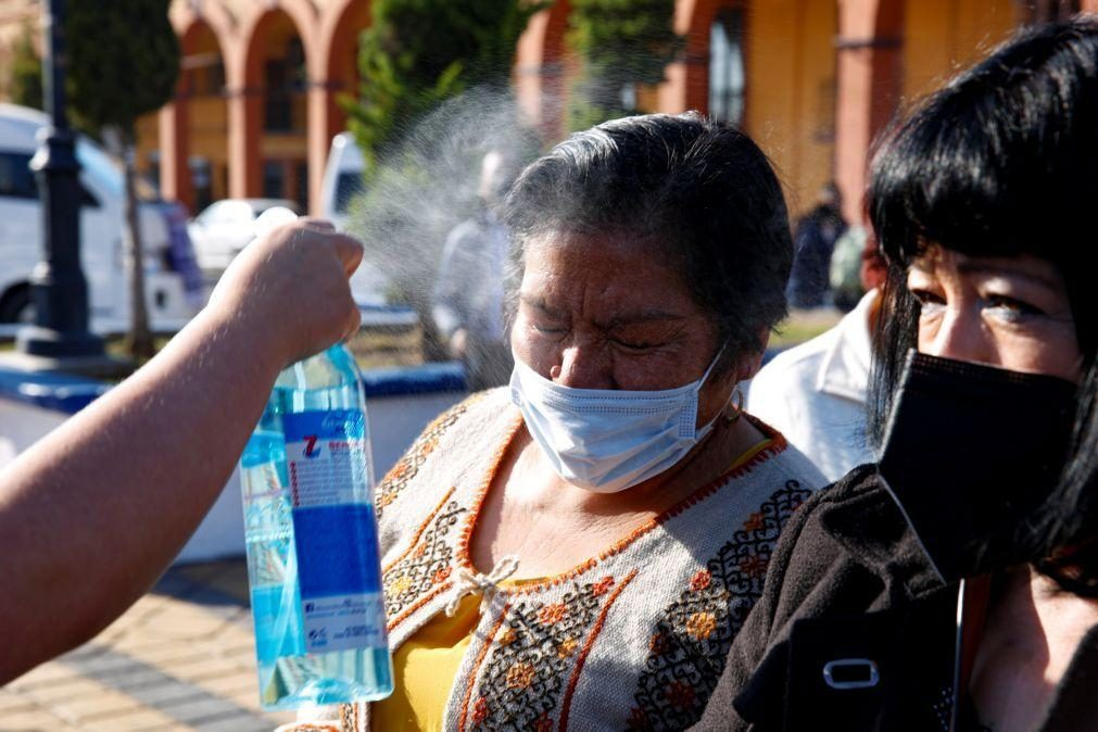 Covid-19: México com 126 mortos e 1.793 casos nas últimas 24 horas