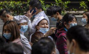 Covid-19: China com 16 casos em 24 horas, dois de contágio local