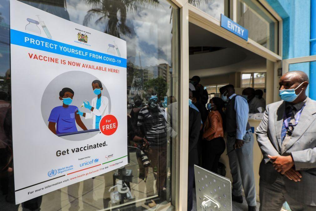 Covid-19: África com mais 301 mortos e 7.450 infetados nas últimas 24 horas