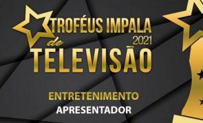 Troféus Impala de Televisão 2021: Nomeações na categoria de Melhor Apresentador