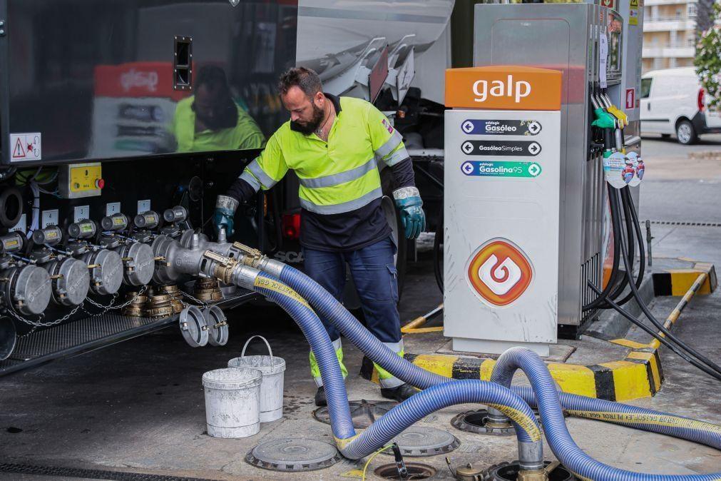 Vendas de combustíveis da Galp caem 25% no 1.º trimestre