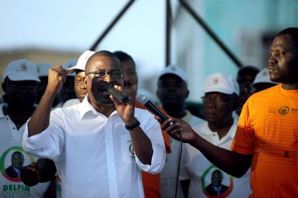 Presidente do parlamento são-tomense anuncia candidatura à eleição presidencial