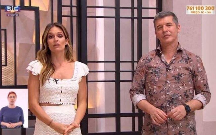 Diana Chaves e João Baião emocionados ao anunciar morte de convidado