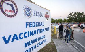 Covid-19: EUA com 562.504 mortes desde o início da pandemia