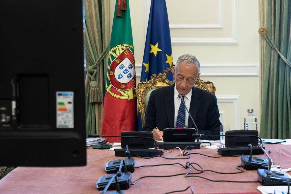Marcelo ouve partidos sobre renovação do estado de emergência que deseja ser a última