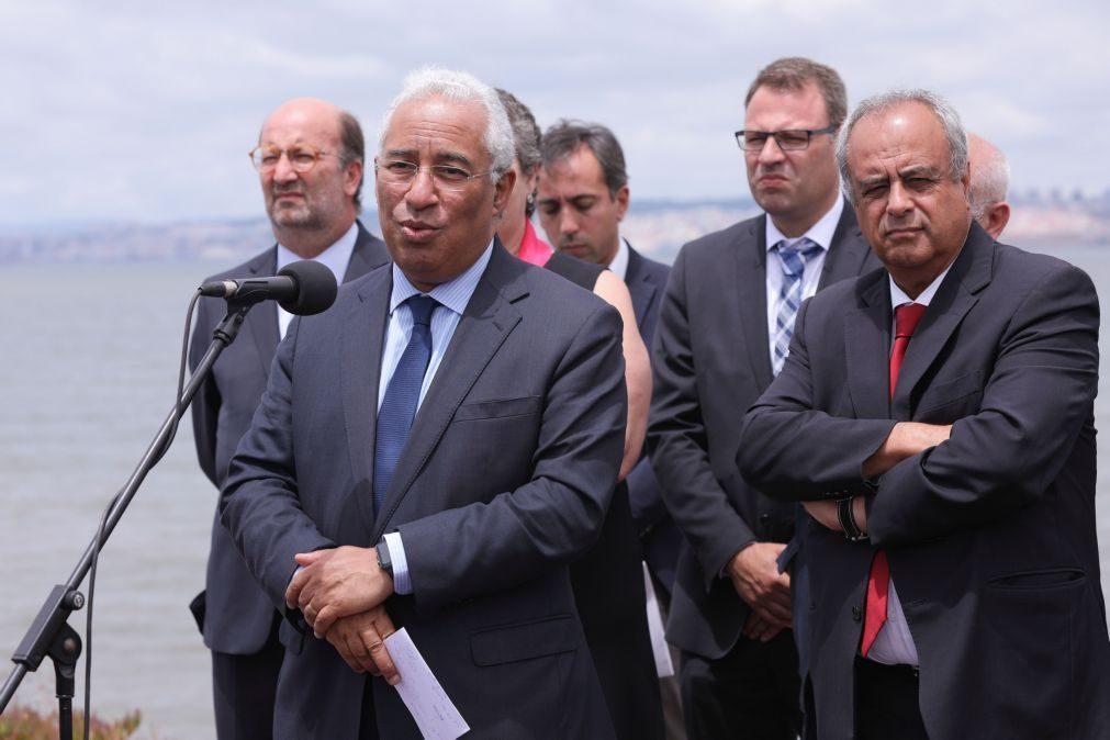 Costa quer prioridade absoluta a reconstrução a par do esclarecimento das causas do incêndio em Pedrógão Grande