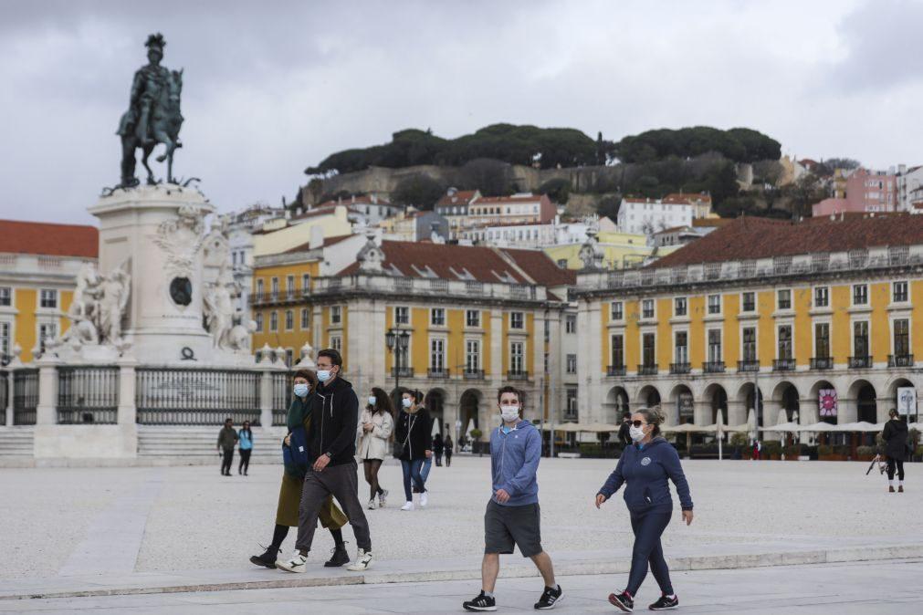 Covid-19: Portugal pode atingir limiar de 120 casos dentro de duas semanas