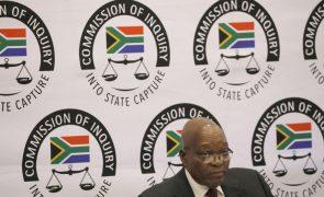 Justiça da África do Sul pede a ex-PR que escolha a sentença se for condenado