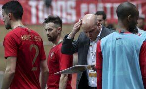 Jorge Braz diz que jogo com Noruega vai servir para Portugal