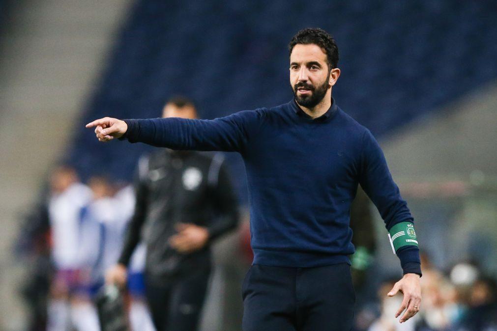 Rúben Amorim suspenso por 15 dias falha jogos do Sporting
