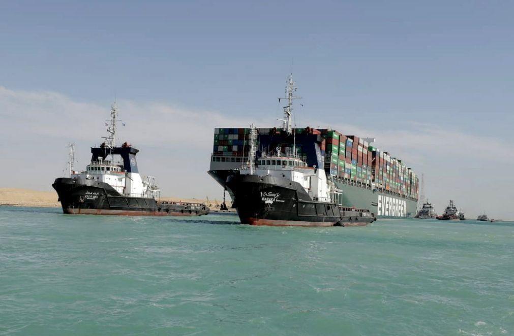 Autoridade Canal do Suez exige 767MEuro de indemnização a armador do Ever Given