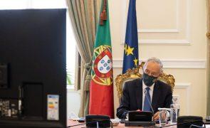 Covid-19: Presidente da República fala ao país na quarta-feira às 20:00