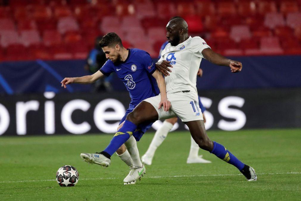 FC Porto falha meias-finais da Liga dos Campeões ao bater Chelsea por 1-0