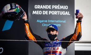 MotoGP/Portugal: Todos os olhos postos em nova vitória de Miguel Oliveira