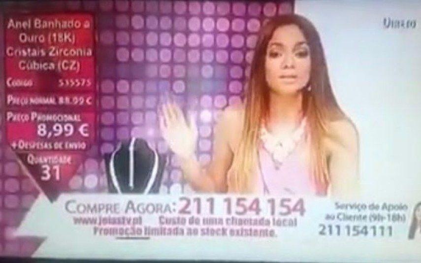 Catarina Morazzo Comete gaffe durante programa em direto (vídeo)
