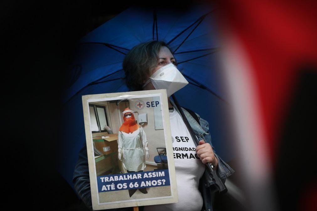 Enfermeiros exigem a efetivação de 2010 profissionais com vínculo precário