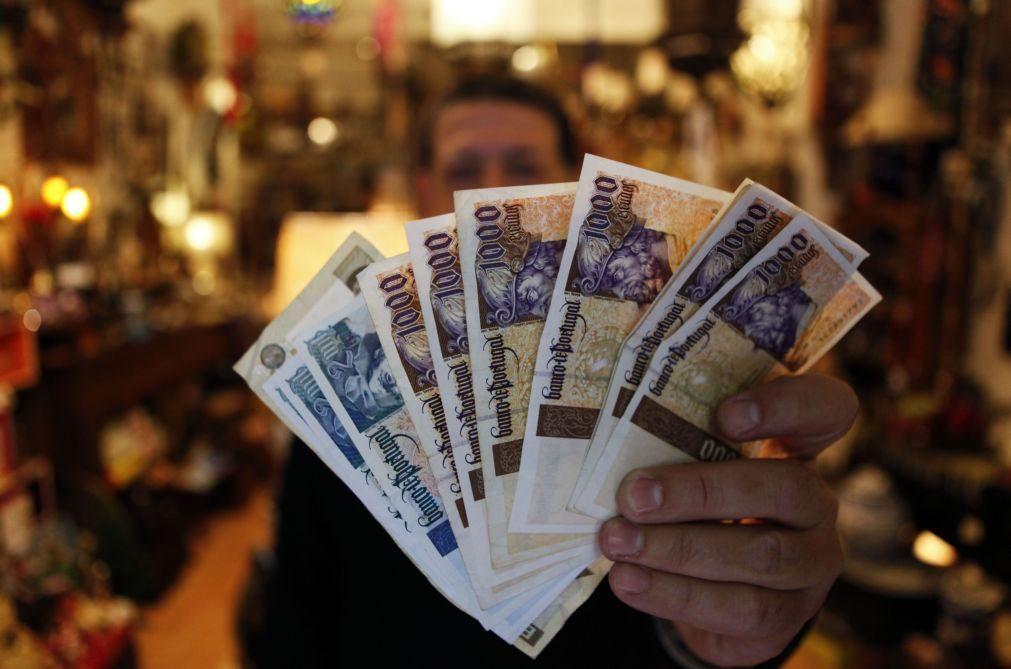 Cidadãos tinham 95,3 ME em notas de escudo não prescritas em 2020 - BdP