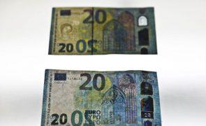 Banco de Portugal retirou mais de 12 mil notas contrafeitas de circulação em 2020