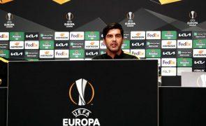 Paulo Fonseca considera jogo com Ajax