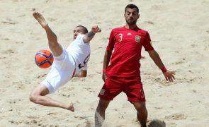Qualificação para Mundial de futebol de praia entre 25 de junho e 05 de julho