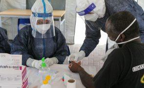 Covid-19: Moçambique com 57 novas infeções e sem óbitos nas últimas 24 horas
