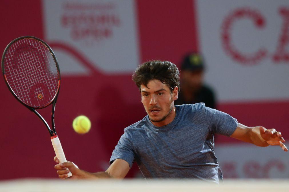 João Domingues cai na primeira ronda do 'qualifying' de Wimbledon