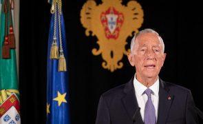 Covid-19: Presidente da República admite confinamentos locais