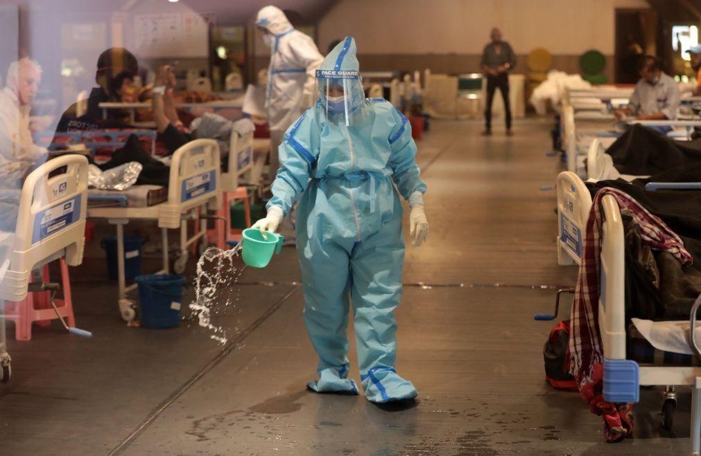 Covid-19: Índia ultrapassa as 200 mil infeções em 24 horas, um novo recorde