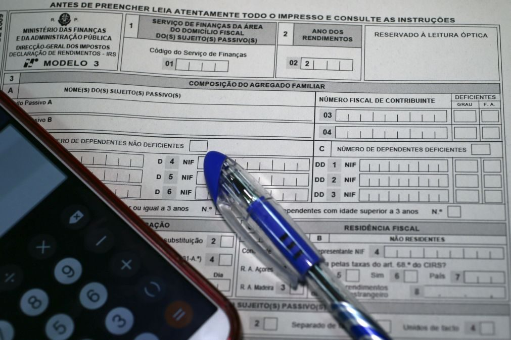 Reembolsos do IRS e do IVA justificam queda da receita fiscal até maio