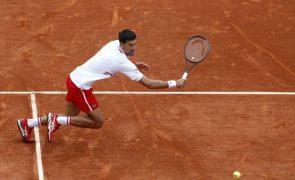 Novak Djokovic eliminado na terceira ronda do Masters 1.000 de Monte Carlo