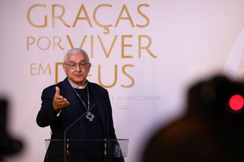 Covid-19: Presidente da Conferência Episcopal diz que já há paróquias