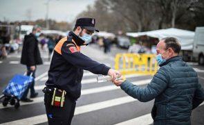 Covid-19: Espanha com 9.663 novos casos e 126 mortes nas últimas 24 horas