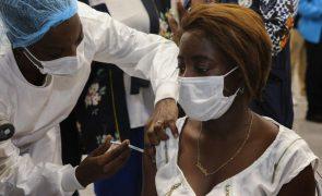 Covid-19: Angola com 110 novos casos e 31 recuperações nas últimas 24 horas