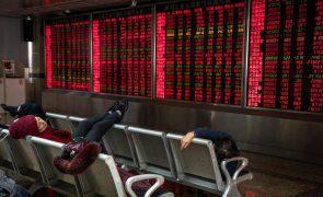 Bolsa de Xangai abre a subir 0,24%