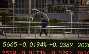 Bolsa de Xangai encerra a subir 0,81%