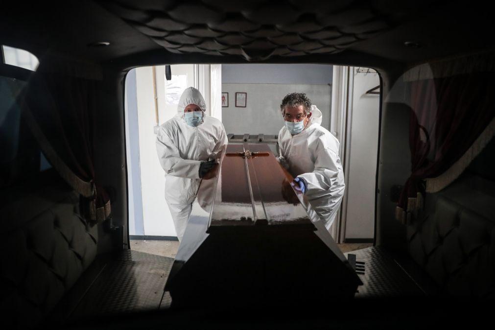 Covid-19 responsável por 70,8% do excesso de mortalidade no primeiro ano de pandemia